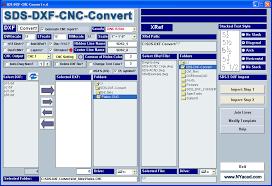 sds dxf convert