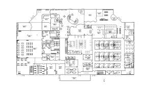 Health Center Floor Plan by Quinncandesign