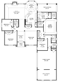 simple three bedroom house plans throughout 3 bathroom corglife