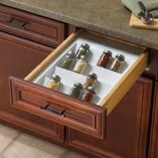 Spice Drawers Kitchen Cabinets by 33 Best Cabinet Accessories Images On Pinterest Kitchen Ideas