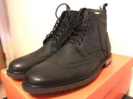 s boots size 9 mens boots size 9 brad brogue stamford boot black ebay