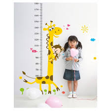 aliexpress com buy express kids height chart wall sticker home aliexpress com buy express kids height chart wall sticker home decor cartoon giraffe height ruler home decoration room decals wallsticker wallpaper from