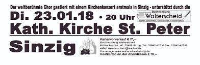 Bad Bergzabern Plz 53489 Sinzig Don Kosaken Chor Wanja Hlibka