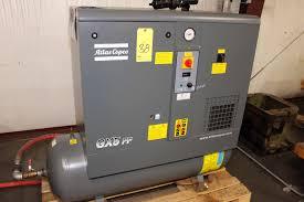 rotary type air compressor atlas copco mdl gx5ff ep csa ul