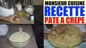 lidl recettes de cuisine recette pâte à crêpe monsieur cuisine silvercrest lidl skmh 1100