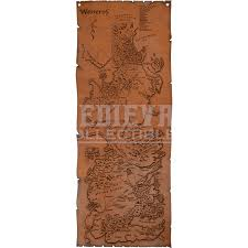 leather map leather map of westeros dk1072 by collectibles