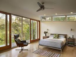mid century bedroom decorating ideas varnished tiger wood queen
