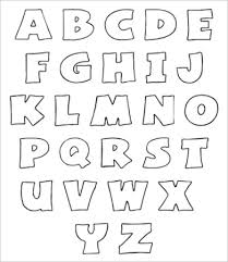 printable alphabet stencils free printable alphabet letter 9 free pdf jpeg format download