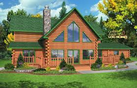Log Home Floor Plans Prices Golden Eagle Log And Timber Homes Floor Plan Details American