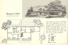 mid century modern floor plans vintage house plans 3163 antique alter ego