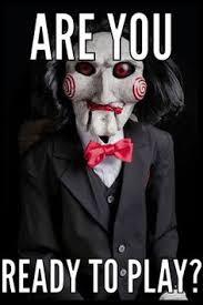 Saw Doll Meme - jigsaw ungratefultobealive saw pinterest horror movie and