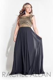 rachel allan plus size 2016 prom dress 7413