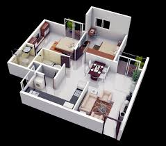 Small 2 Bedroom House Plans And Designs Well Suited Design 10 3d Small 2 Bedroom House Plans Designs 3d