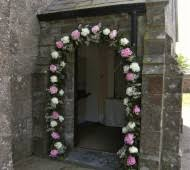 wedding arches ireland wedding flower arch with white and pink peonie flowers for wedding