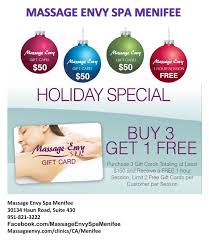gift card specials gift card special at envy spa menifee menifee 24 7