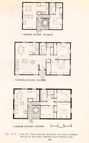 Row House Plans - low cost building systems for barrio historico