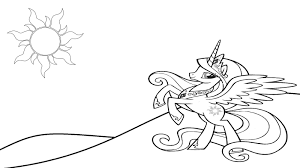 my little pony for kids coloring pages surprise animation parti