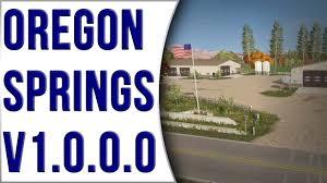 map of oregon springs oregon springs v1 0 0 0 map review