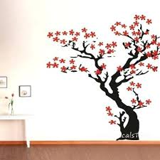 Cherry Blossom Tree Wall Decal For Nursery Cherry Blossom Wall Cherry Blossom Wall Decal Tree Wall Decal