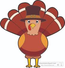 clipart of a turkey for thanksgiving
