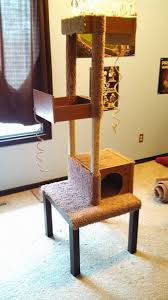 build a unique and inexpensive cat tree using old drawers diy
