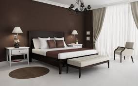 Brown Furniture Bedroom Contemporary Brown Master Bedroom Design Ideas With White