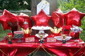 backyard graduation party decorating ideas christmas lights