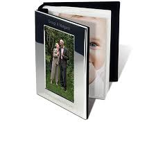 Personalised Photo Albums Personalised Photo Book Silver Plated Engraved Photo Albums