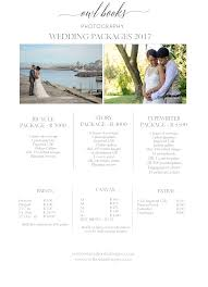 Photography Wedding Packages Pricing Guide Owl Books Photography