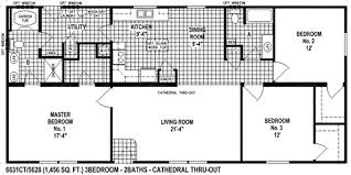 the spring view select 6631ct mobile home floor plan offers 1 456