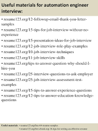 Sample Resume For Qtp Automation Testing by Senior Automation Engineer Sample Resume 21 Qtp Resume Best Qtp