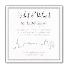wedding invitations edinburgh edinburgh skyline wedding invitations luxury wedding invitations