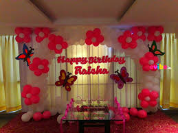 birthday decoration images at home top simple balloon decorations birthday party world homes 84174