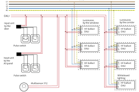wiring diagram dali lighting control wiring diagram simple