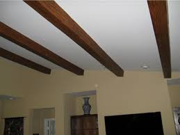 How To Sheetrock A Ceiling by Sloped Ceiling Faux Wood Workshop