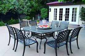 Macys Patio Dining Sets - amazon com darlee nassau cast aluminum 10 piece dining set with