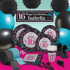 sweet 16 party supplies sweet 16 party supplies sweet sixteen party decorations