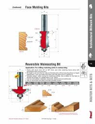 Wainscoting Router Bits Freud 99 470 Reversible Wainscoting Bit 1 2