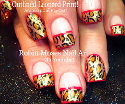 thanksgiving nail art tutorial robin moses nail art september 2015