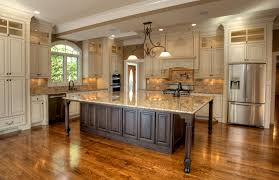 kitchen design fascinating brown wooden flooring large kitchen
