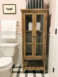 bathrooms design tall skinny cabinet bathroom linen tower corner