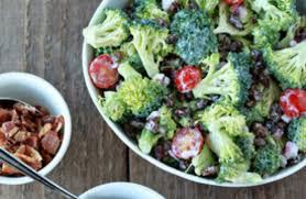 bacon sunflower seeds broccoli raisin salad your way with optional bacon sunflower