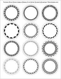 17 best round labels and round label template printables images on