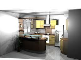 cuisine ouverte avec bar cuisine americaine avec bar en image photos de newsindo co