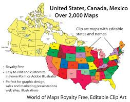 United States Map Clip Art by Amazon Com World Of Maps Clip Art Software