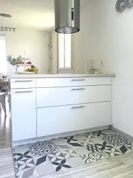 tapis de cuisine originaux tapis cuisine motif carreaux de ciment effet pour design original