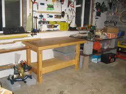 garage workbench garage workbench plans with pictures