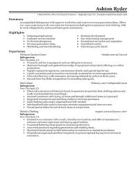 Sample Retail Resumes by Retail Resume Best Resume Templates O Copy Com