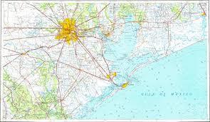 Galveston Map Download Topographic Map In Area Of Houston Galveston Pasadena