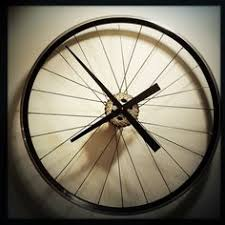 Unique Large Wall Clocks Large Wall Clock Bicycle Wheel Clock Bicycle By Treadandpedals